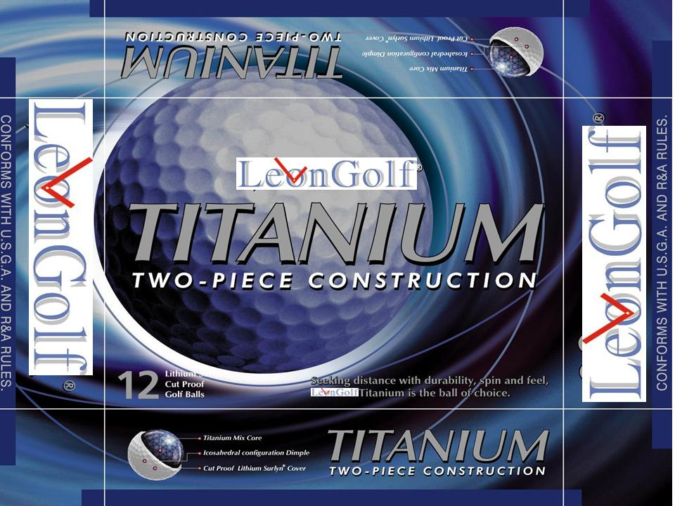 2-Piece Titanium Package